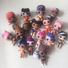Оригинальные куклы LOL Surprise с изменением цвета для большой сестры, коллекция аниме «сделай сам», 8 см, серия 3, 4, кукла LOL Min, игрушки для домашни...