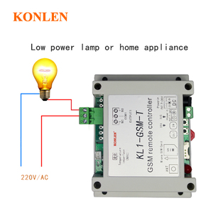Image 3 - KONLEN חכם GSM ממסר בקר טמפרטורת חיישן SMS שיחת שלט רחוק בית אוטומציה כוח מתג שער פותחן מים משאבת