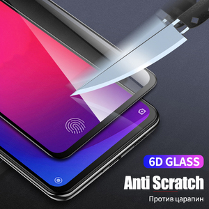Image 4 - 6D Full Cover Tempered Glass for Xiaomi Mi 9T Pro 9 SE A2 Lite A3 Pocophone F1 F2 Redmi Note 9S 8 Pro 8T Screen Protector Glass