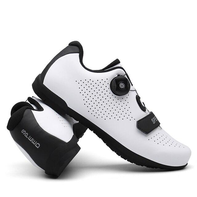 2020 mtb sapatos de ciclismo profissional anti-skid ao ar livre atlético de corrida sapatos de bicicleta não-bloqueio sapatos de ciclismo tênis homem 3