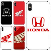 For Xiaomi Mi A1 A2 A3 5X 6X 8 9 9t Lite SE Pro Mi Max Mix 1 2 3 2S car Honda H wing logo Collage Silicone Phone Case(China)