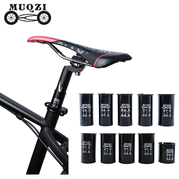 MUQZI bicycle Seat Post Tube Seatpost Reducing Sleeve Adapter Adjust Diameter 27.2 turn 30.4 turn 31.6 etc Mountain Road Bike image