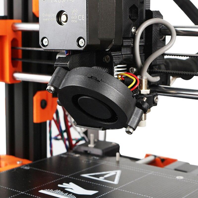 Prusa i3 MK3 Front Print Fan DC 5V 5015 Blow Radial Cooling Fan 3D Printer Parts
