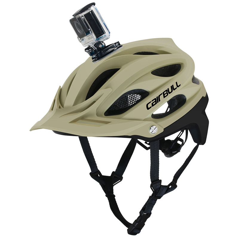 CAIRBULL MTB DVR Bicycle Helmet Sports & Action Video Camera Installable Cycling Mountain Bike Helmet BMX Casco 55-61CM image