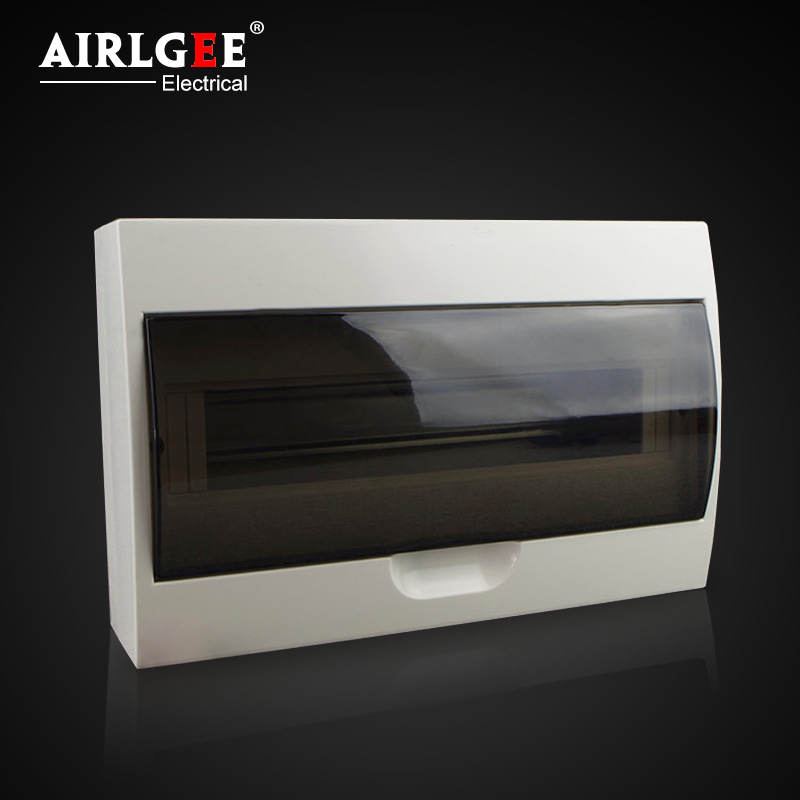 15ways flush type waterproof Plastic Electrical distribution box use for power supply Surface Mount User Unit
