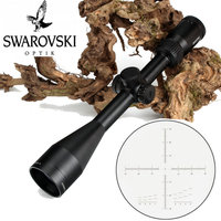 Tactical SWAROVSKl 4 16X50 IR Optical Sight Riflescope F191 Glass Etched Reticle with Turrets Reset Hunting Shooting Rifle Scope