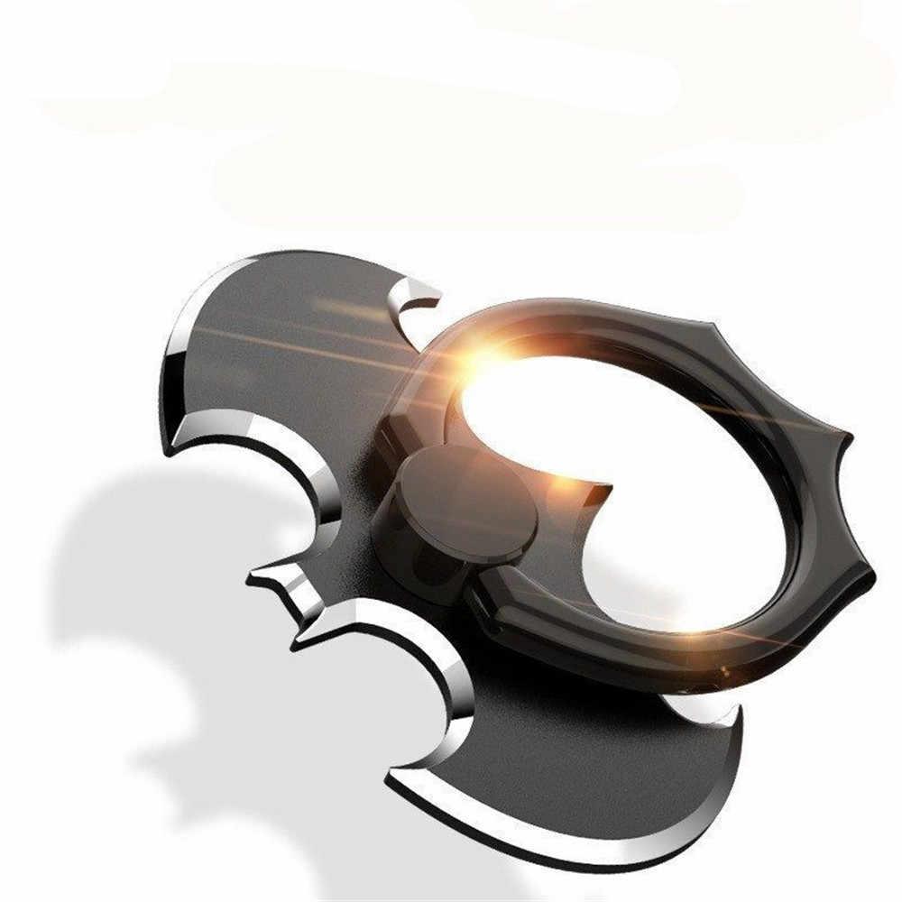 الفاخرة باتمان الألومنيوم معدن العالمي البنصر الهاتف الذكي المحمول هاتف محمول حامل مكتبي اليد آيفون 6 شاومي Mi8 حامل