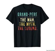 Presente do dia dos pais grand-pere dos homens para a camisa do grand pere