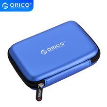 """ORICO PHB-25 2,5 """"2,5 дюймов Защитная сумка для внешний Портативный коробка-чехол на HDD-синий/черный/розовый"""