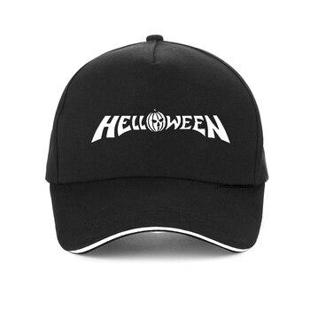 New Summer Helloween Baseball Cap Hombre outdoor rock band cap Helloween  Keeper of the Seven Keys Part HipHop hat helloween helloween my god given right 2 lp