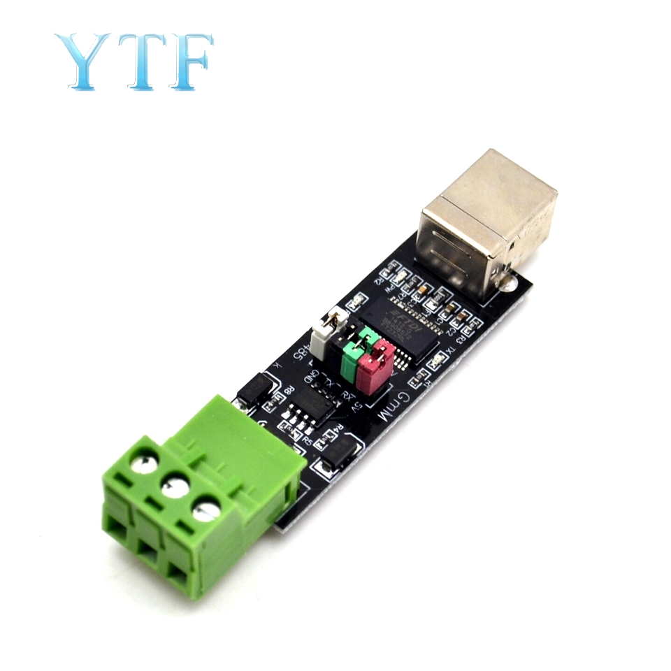 USB 2.0 To TTL RS485 Serial Converter Adapter FT232RL SN75176 Double Function Double Protection