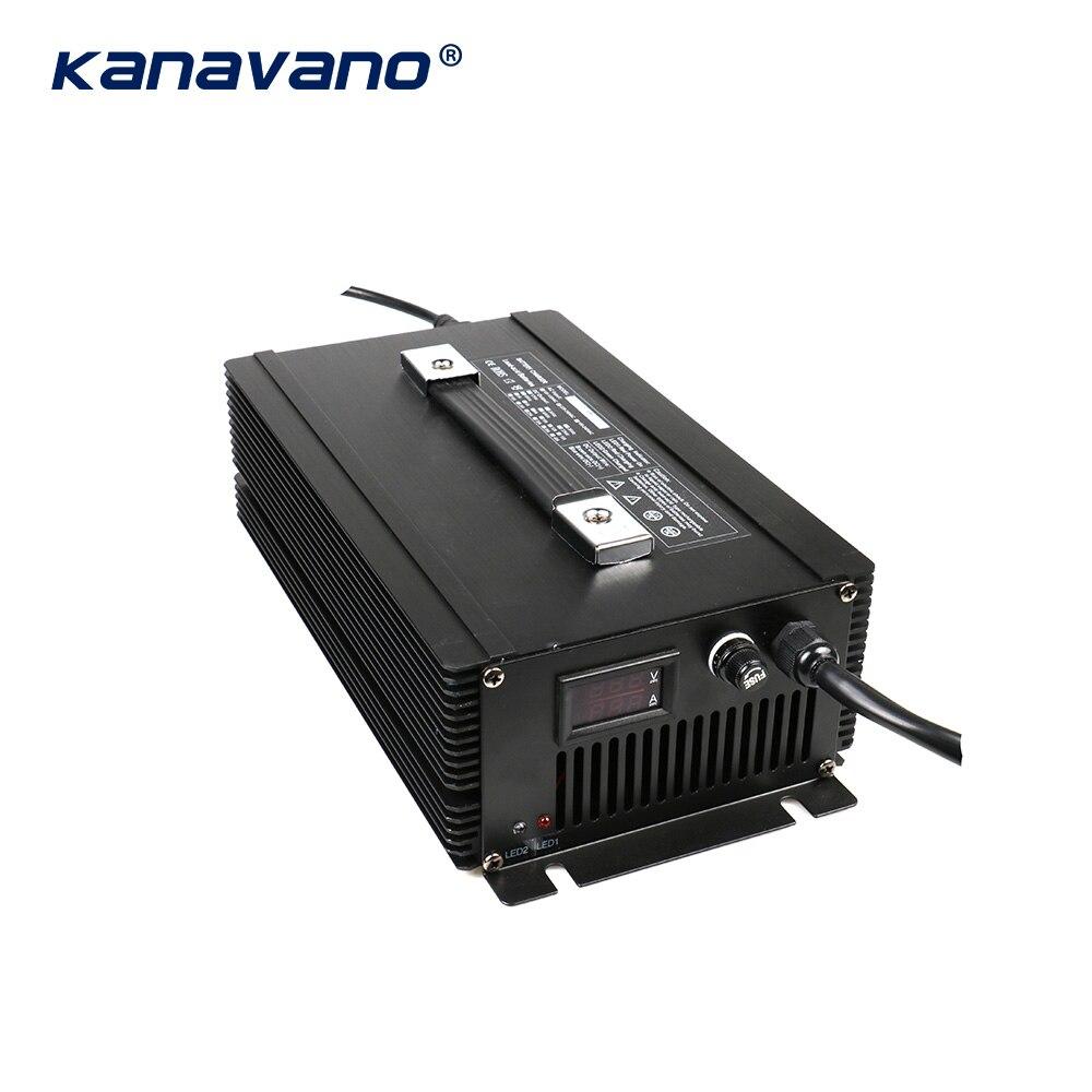 Kanavano nach maß 12v 80a 12,6 V 80A 14,6 V 80A 24V 50A batterie ladegerät 4Serie 1500w für lithium batterie Blei Säure LiFePO4 - 5