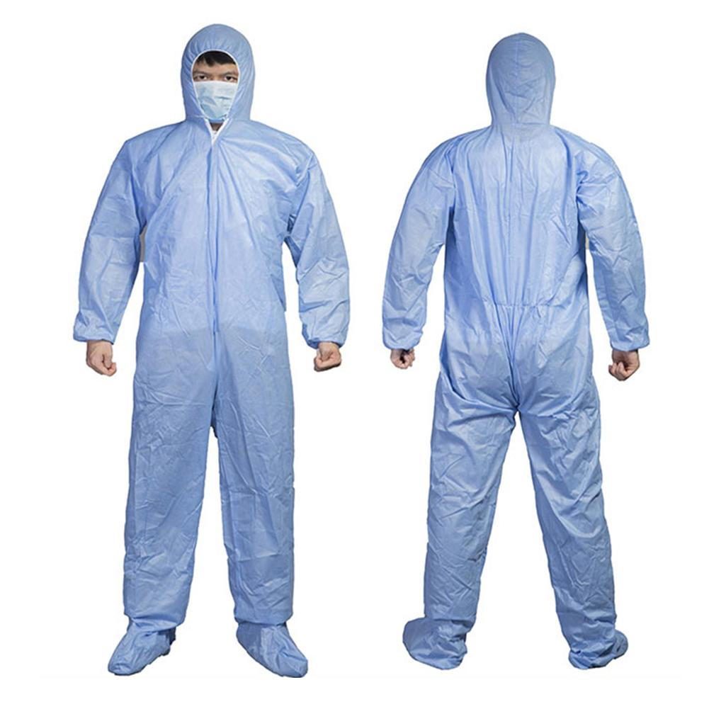 M-3XL 6 Colors Coverall Hazmat Suit Protection Protective Disposable Anti-Virus Clothing Disposable Factory Hospital Safety