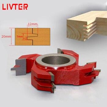 LIVTER Tungsten Carbide Finger Jointer Cutter / Wood Shaper Cutter / Woodworking Curving Grooving Blade