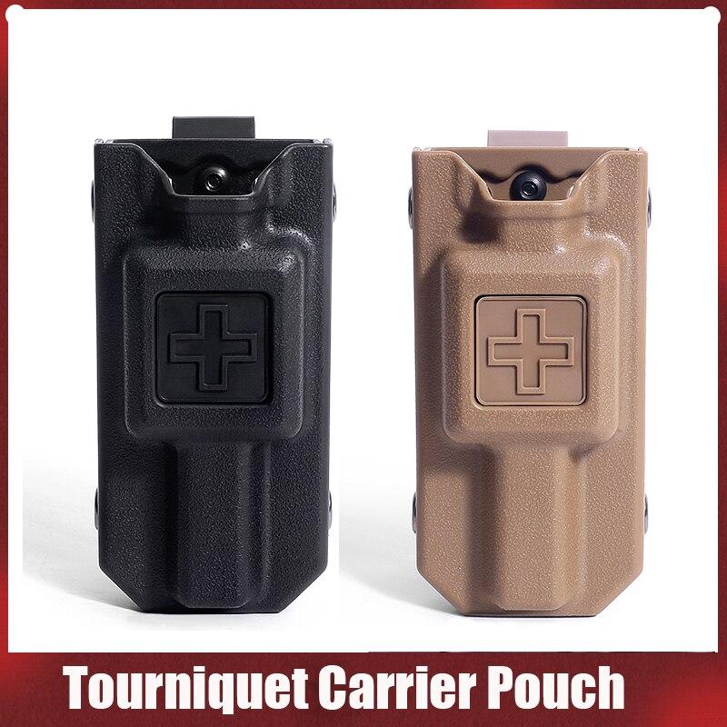 Outdoor Molle EMT Tourniquet Carrier Pouch Hunting Application Tourniquet Storage Bag Box Holder Case Tactical Pouch