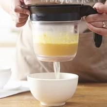 1000 мл Многофункциональный жировой сепаратор для подлива масла супа жировой сепаратор с ситечком фильтр чаша кухонные инструменты для приготовления пищи