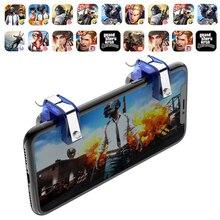 2 шт./лот R11 металлический смартфон игровой триггер для мобильных телефонов для PUBG мобильный геймпад Кнопка огня Aim Key L1 R1 шутер Pubg контроллер