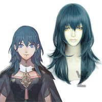 Newest Byleth Beres Cosplay Wig Fire Emblem Three Houses Cosplay Costume Accessory Halloween Wig High Quality Synthetic Hair