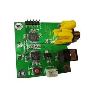 Image 5 - Плата приемника AK4118AEQ, коаксиальное волокно, выход I2S, 24Bit192kHz, мягкое управление