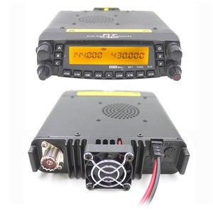 Image 4 - Rádio automotivo do caminhão do carro da faixa v/uhf do quadrilátero do repetidor da estação de rádio 50w do transceptor móvel de tyt th9800 TH 9800 com cabo