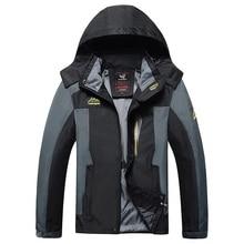 Autumn Men Windbreaker Male Windproof Waterproof Hood Jacket Plus Big Size 5XL 6XL 8XL 9xl Man Coat Work Clothing Outwear