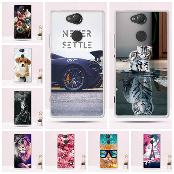 Case For Sony Xperia XA2 Case Silicone Soft TPU Printed Case For Sony XA2 H3113 Cover Cute Animal Pattern Phone Back Cover Shell