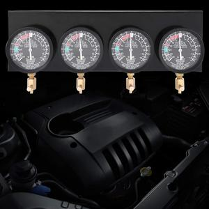 Image 2 - Motorcycle Fuel Pump Carburetor Vacuum Pressure Gauges Test Synchronous Balance Tool Positive Negative Pressure 4 Cylinder