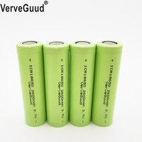 VerveGuud 4Pcs 100% Original Li-ion ICR 18650-26F 3.7 v 2600 mAh 18650 Lithium Rechargeable Battery For Flashlight Batteries
