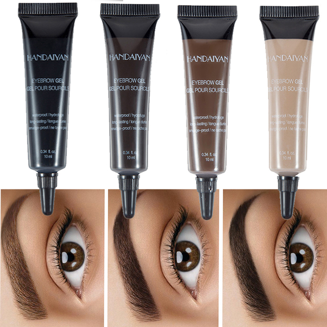 Pro Eyebrow Cream Gel Makeup Eyebrow Tattoo Pen Tint Long Lasting Waterproof Henna Eyebrow Gel cejas maquillaje