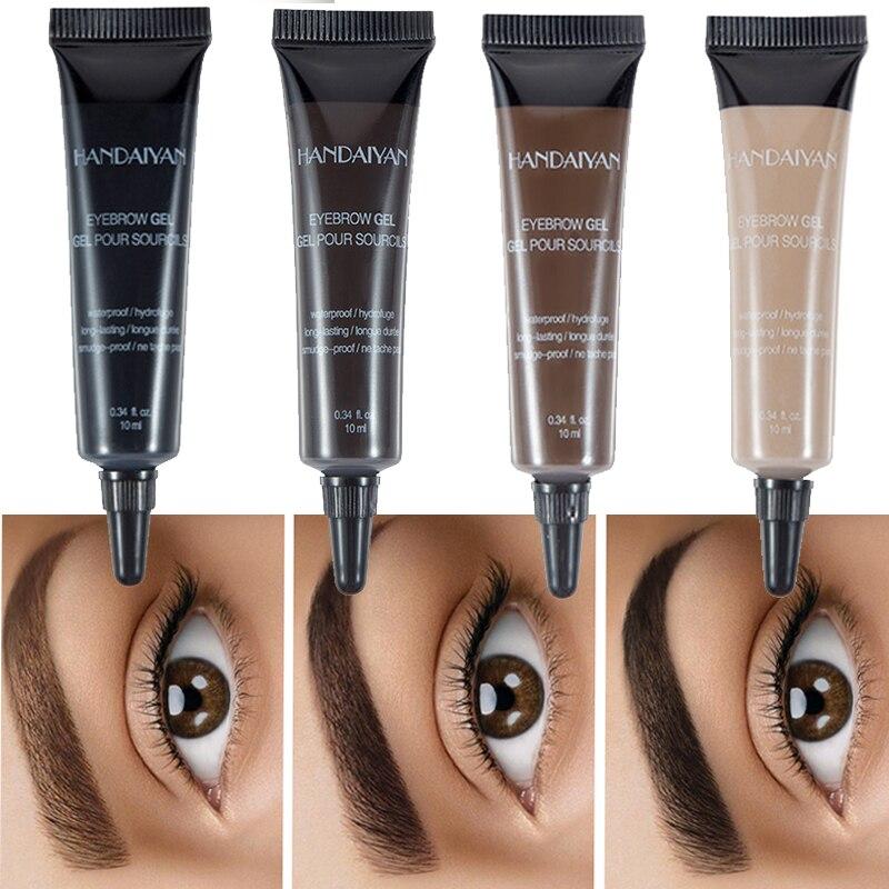 Pro крем для бровей гель макияж бровей Татуировка ручка оттенок стойкий водонепроницаемый гель для бровей из хны cejas maquillaje
