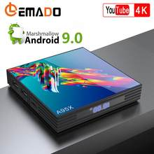 Caixa de tv android 9.0 a95xr3 rockchip rk3318 4 gb ram 64 gb rom 4 k netflix youtube plex hbo lemado smart android tv box(China)