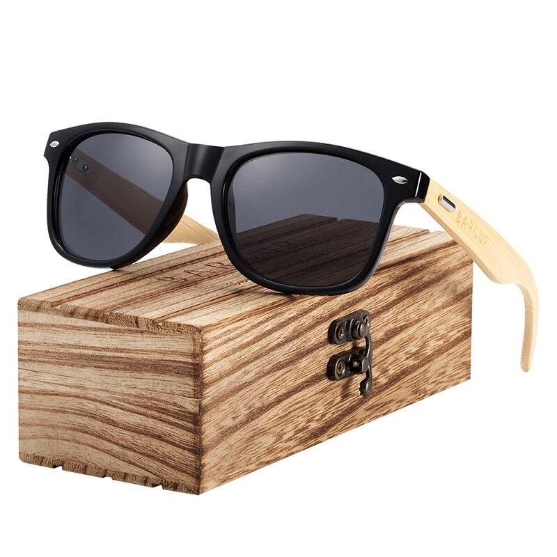 H163f4fc1c3654c62b4010e8cbcca74eez BARCUR Polarized Bamboo Sunglasses Men Wooden Sun glasses Women Brand Original Wood Glasses Oculos de sol masculino