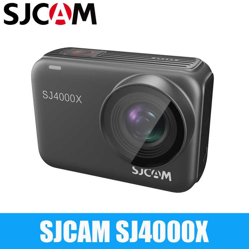 SJCAM SJ4000X Cơ Thể Chống Thấm Nước 4K 24fps Camera Hành Động Điều Khiển Từ Xa Wifi Con Quay Ổn Định Thể Thao Video Camcoder