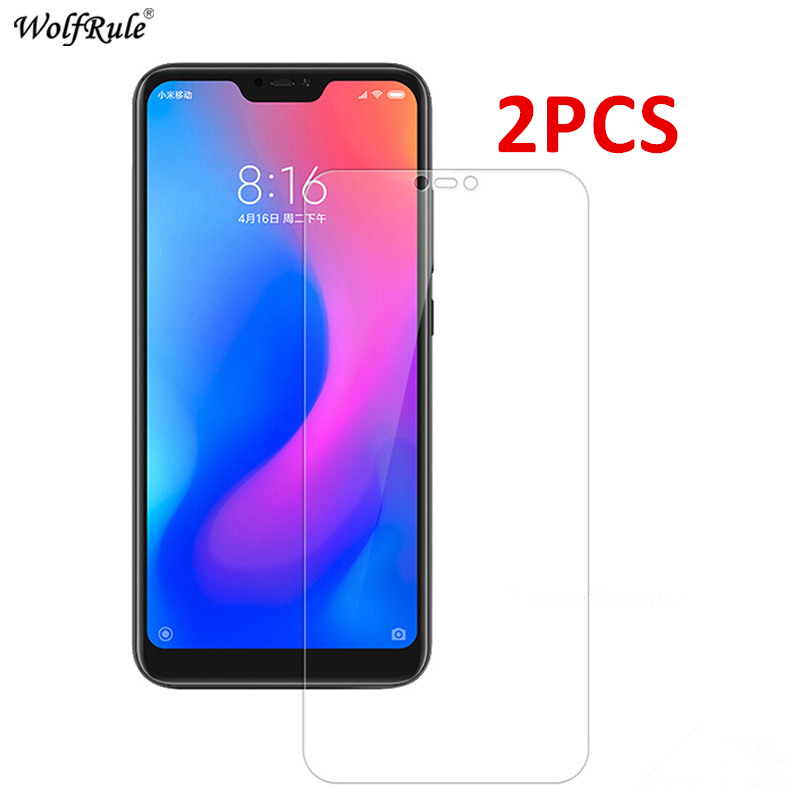 2PCS For Xiaomi Mi A2 Lite Glass Screen Protector Tempered Glass For Xiaomi Mi 9 Lite A3 6X CC9 CC9e Protective Glass Phone Film