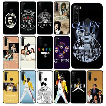 YNDFCNB Freddie Mercury Queen Band Phone Case for Xiaomi Redmi 5 5Plus 6 6A 4X 7 8 Note 5 5A 7 8 8Pro image