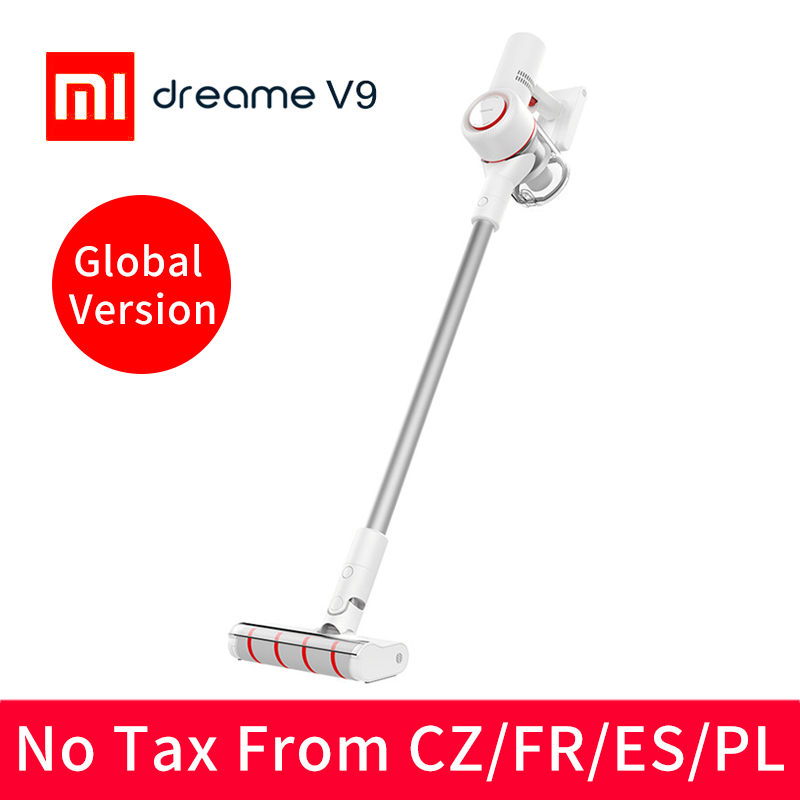 Original Xiaomi Dreame V9 Vacuum Cleaner Handheld Cordless Stick Vacuum Cleaners 400W 20000Pa from xiaomi youpin