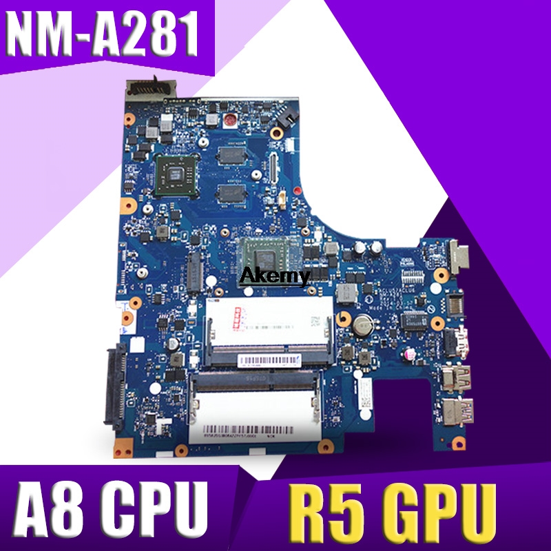 NM-A281 mainboard for Lenovo G50-45 ACLU5/ACLU6 laptop PC motherboard for amd A8-6410 CPU + R5 <font><b>GPU</b></font> <font><b>2GB</b></font> video card 100% test OK image