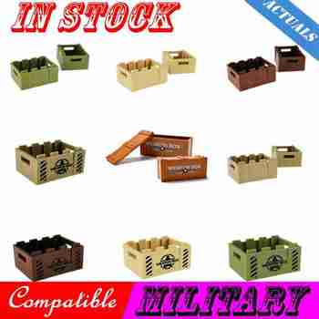 Locking Military SWAT Weapon ww2 Box Sniper Guns Suits Camouflage Clothes MOC Parts Figures Blocks Toys Lockings Military Cities image