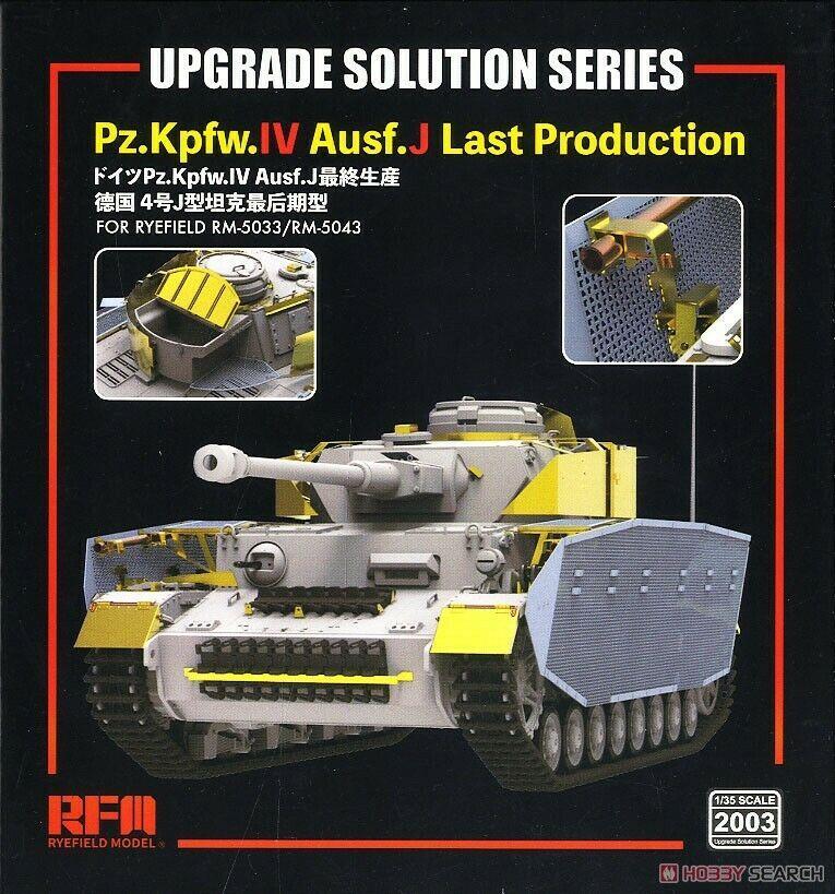 Ryefield-модель RM2003 1/35, улучшенное решение для Pz.Kpfw.IV Ausf.J