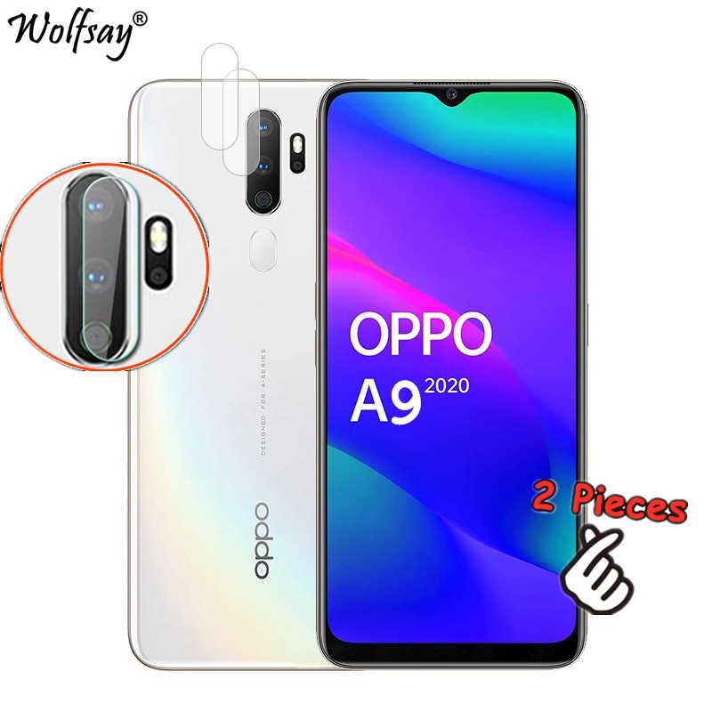 2 قطعة نانو كاميرا زجاج ل Oppo A9 2020 عدسة واقي للشاشة ل Oppo A5 2020 غطاء كامل عدسة الزجاج المقسى ل Oppo A5 A9