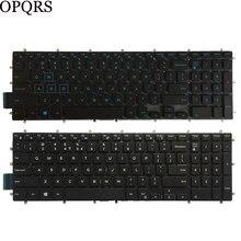 Novo teclado do portátil dos eua para dell inspiron 15 5570 5575 5770 5775 3580 3581 3590 sem teclado retroiluminado