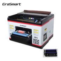 Erasmart Neue Uv-flachbettdrucker A3 Inkjet impressora sublimation mit UV LED system Automatische 1440/2880dpi Drucker