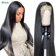 Allove włosów brazylijski proste uzupełnienie splotu włosów Lace Closure 4*4 100% Remy ludzki włos włosy szwajcarska koronka zamknięcie 8 20 Cal darmowa wysyłka za darmo część