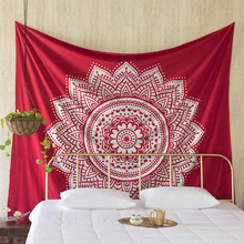 International Mandala Tapestry Wall Hanging Psychedelic Hippie Bohemian psychedelic Tapestries Indian Bedding Decor