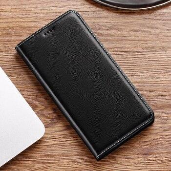 Babylon Genuine Flip Leather Case For Umidigi One Max F1 F2 S2 S3 S5 A3 A3S A3X A5 Z2 Pro X Power 3 Lite Cell Phone Cover Cases