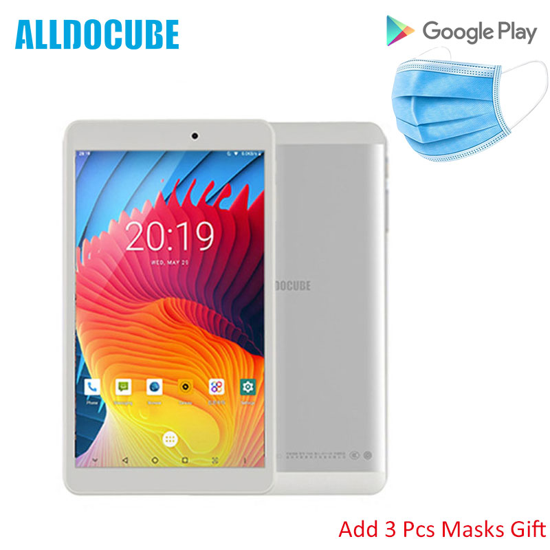 2020 Cheap Alldocube Iplay 8 Pro 8 Inch Calling Tablet MTK MT8321 Quad Core 2GB RAM 32GB ROM Android 9.0 Wifi BT4.0 Masks Gift