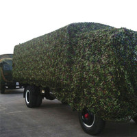 6.8M*6.8M Military Camouflage Netting Tourist Tent Hunting Photography Camouflage Netting Troop truck cover nets