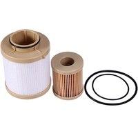 1 conjunto superior + mais baixo filtro de combustível abs filtro de combustível apto para ford f250 f350 f450 f550 super dever 2003-05 ford excursão 6.0l motor 3c3