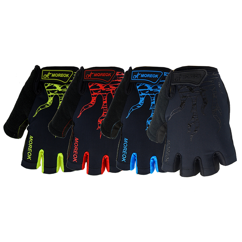 Summer cycling <font><b>gloves</b></font> half finger Men Women Non-slip <font><b>mountain</b></font> <font><b>bike</b></font> <font><b>glove</b></font> <font><b>gel</b></font> Sport bicycle mitts off road mtb boy biking outfit image