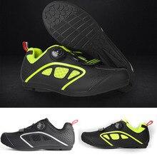 Мужская Уличная обувь для велоспорта; обувь для шоссейного велосипеда; Нескользящая дышащая обувь для отдыха; спортивные кроссовки; EDF88